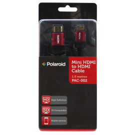 Polaroid Mini HDMI to HDMI cable