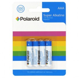 Polaroid AAA Alkaline Batteries (4 pack)