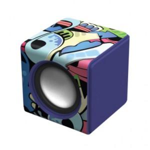 Polaroid purple cube