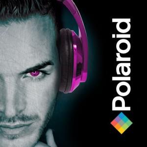 polaroid-metallic-headphonespink