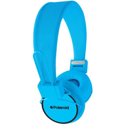 Polaroid bluetooth headphones Blue