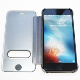Iphone 6s Metal Flip Cover