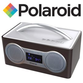 PBS907 Polaroid FM/Bluetooth Boom Box